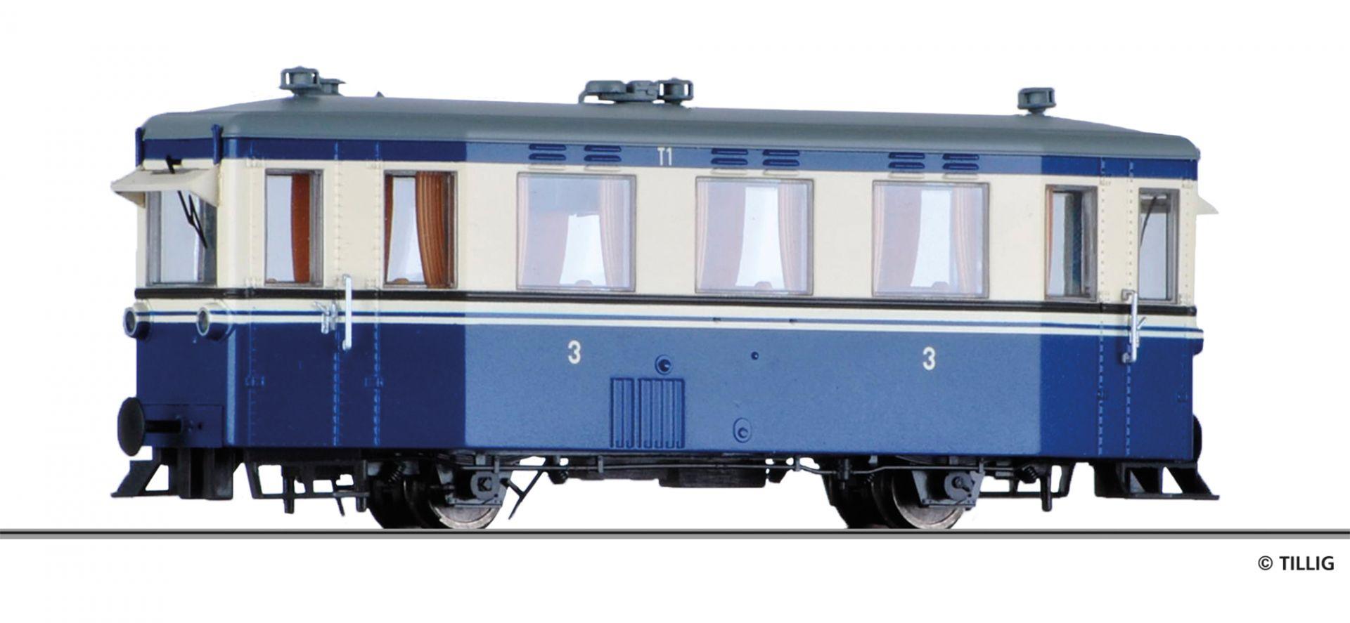 H0e Triebwagen T1 der MEG (Mittelbadische-Eisenbahn-Gesellschaft), Ep. III