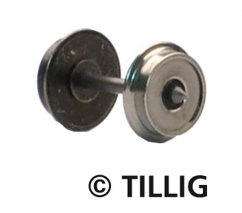 TT Metallradsatz Ø 8,0 mm, einseitig isoliert, Länge 18,6 mm (Beutel à 50 Stück)