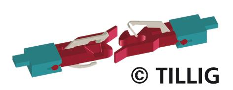 TT Kupplung für NEM-Aufnahme (Beutel à 8 Stück)