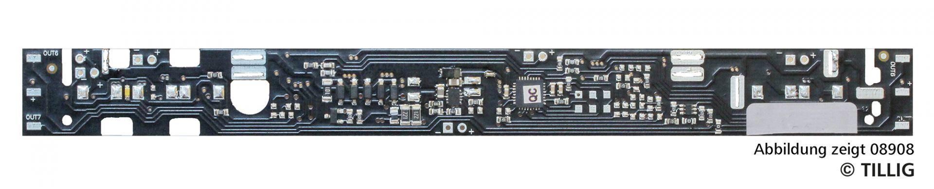 TT LED-Innenbeleuchtung analog / digital Bausatz für Reisezugwagen 1. Klasse, 1./2. Klasse Typ B, Y,