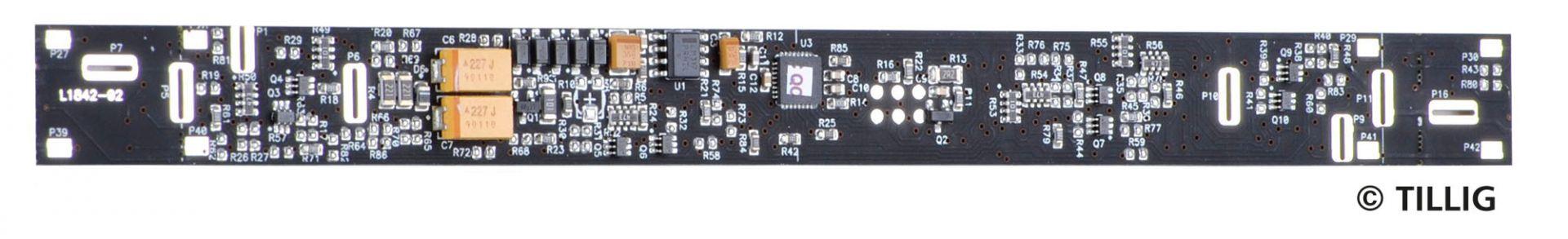 TT LED-Innenbeleuchtung analog / digital Bausatz für Reisezugwagen E5
