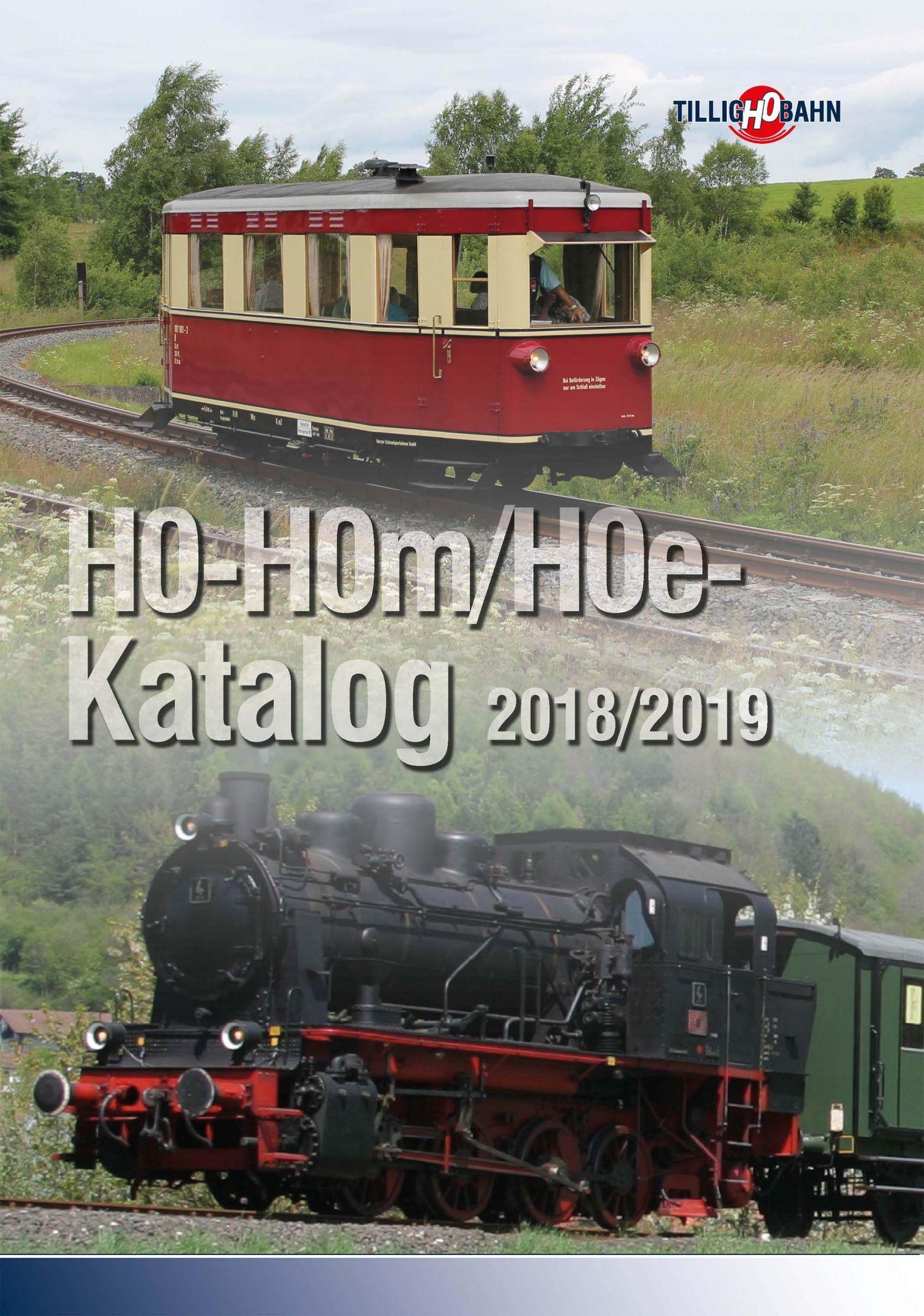 H0-H0m/H0e-Katalog 2018/2019