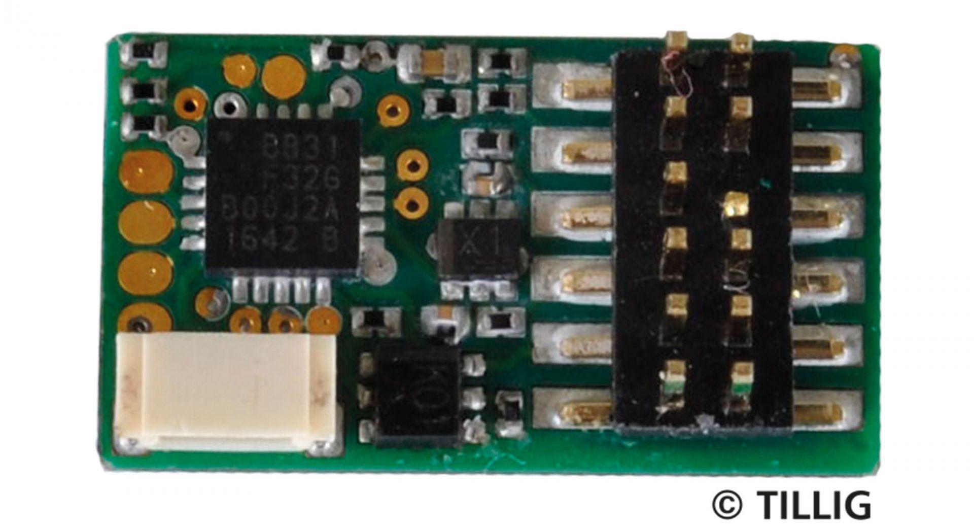 Decoder PluX 12 nach NEM 658 (Koop. Uhlenbrock) (TT, H0, H0m, H0e)