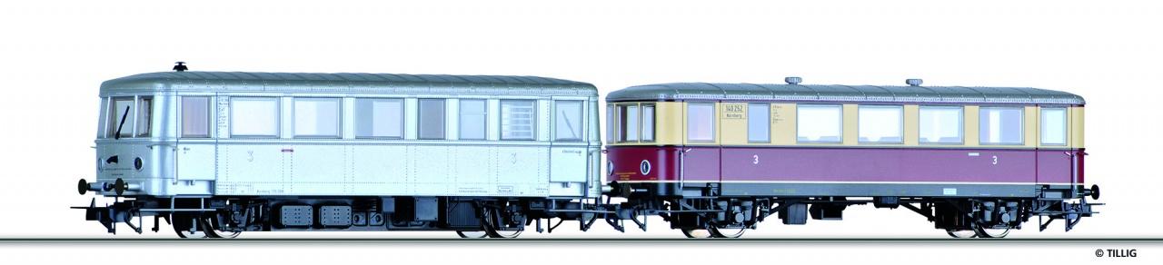 H0 Triebwagen mit Beiwagen der DRG, Ep.II