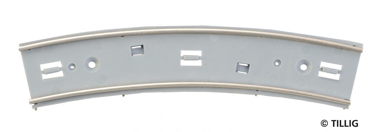 H0 Bogenstück R 250/5° (3 Stück)
