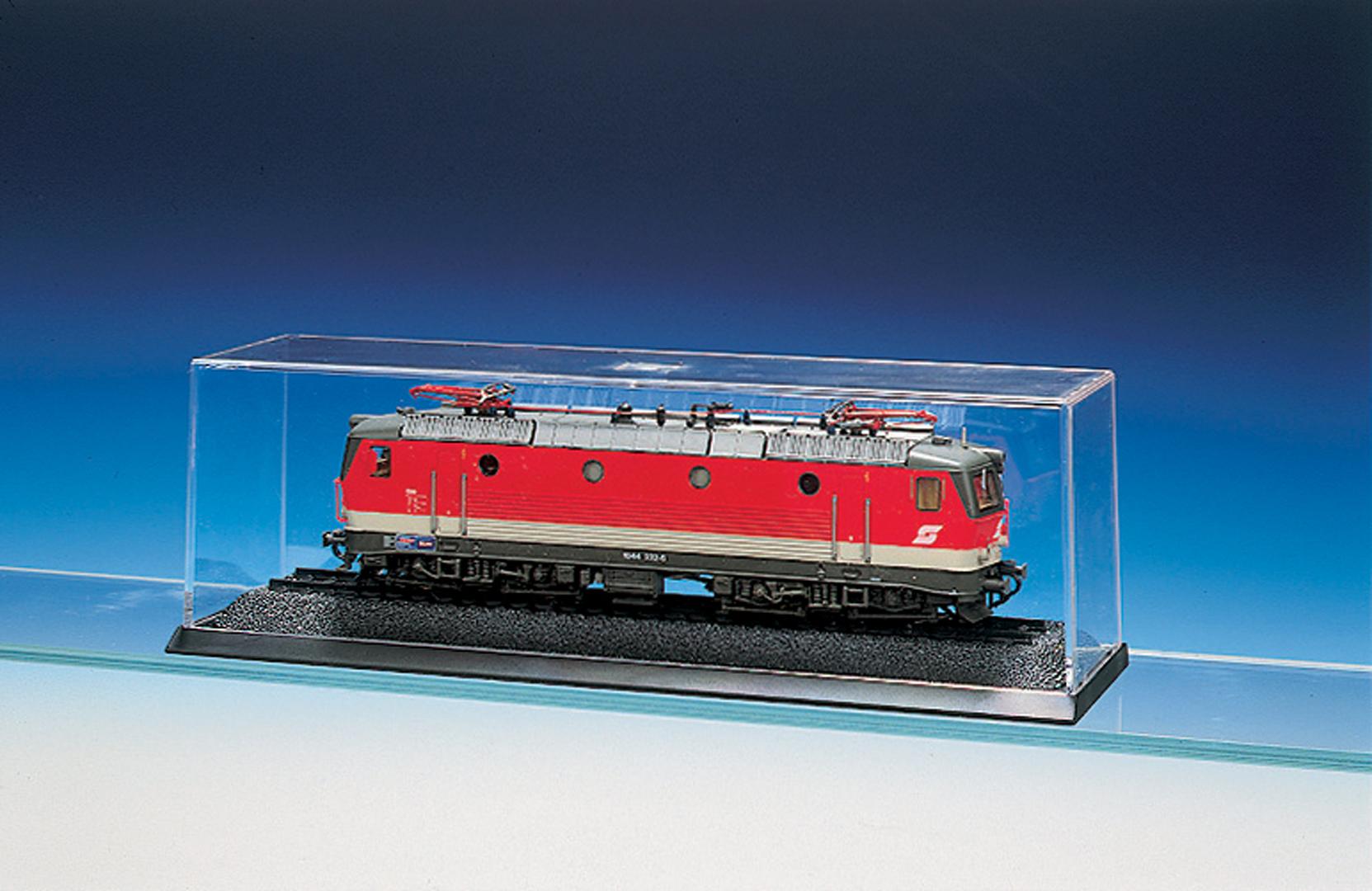 Glasklare Präsentationsbox für Modelle bis max. 220 mm