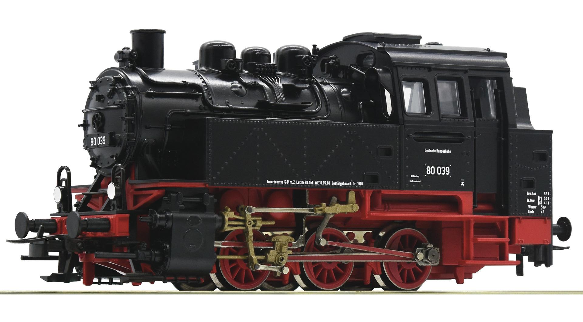 H0 Dampflok BR 80 der DB, Ep.III