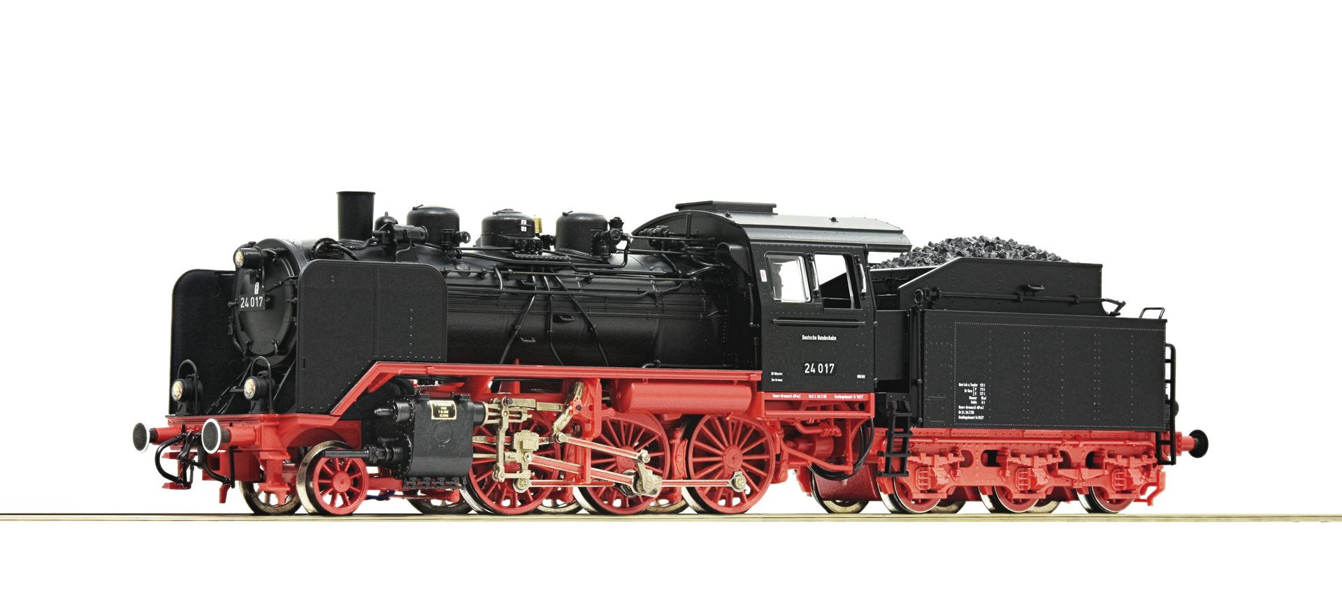 H0 Dampflok 24 017 der DB, Ep.III