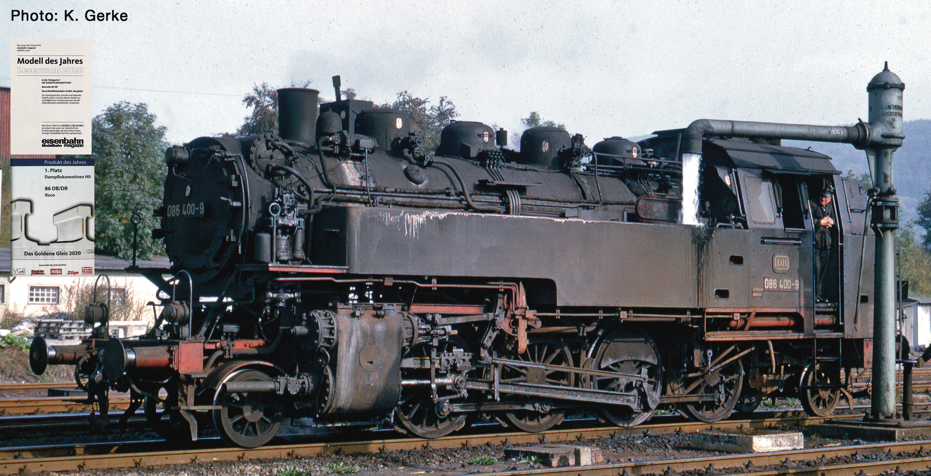 H0 Dampflok 086 400-9 der DB, Ep.IV