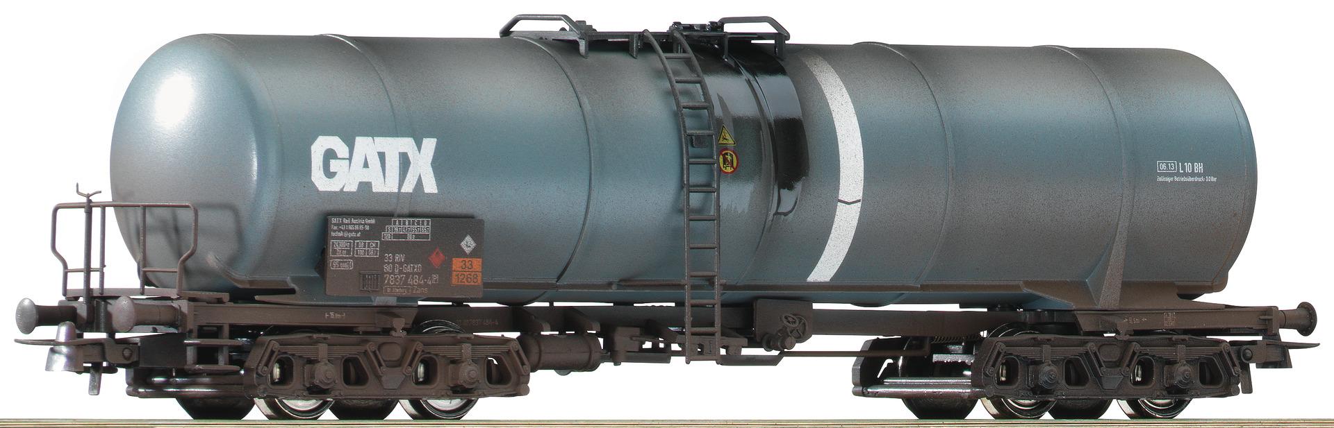 H0 Kesselwagen der GATX, Ep.V/VI - gealtert