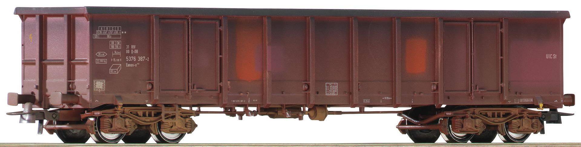 H0 Offener Güterwagen der DBAG, Ep.V/VI - gealtert