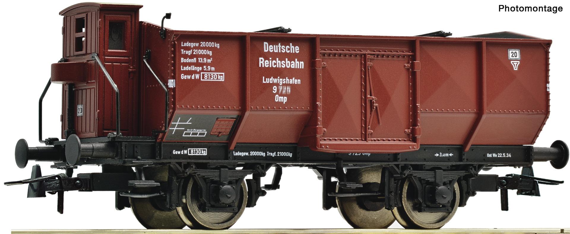 H0 Offener Güterwagen Ludwigshafen der DRG, Ep.II