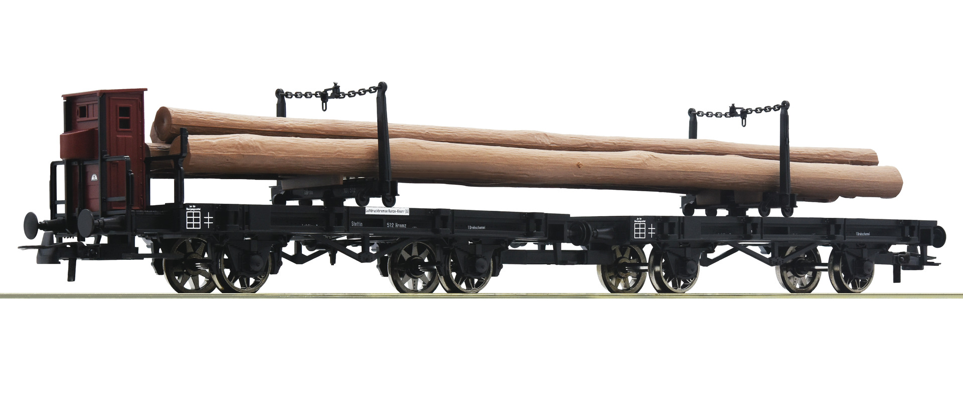 H0 Drehschemelwagen-Gespann der K.P.E.V., Ep.I