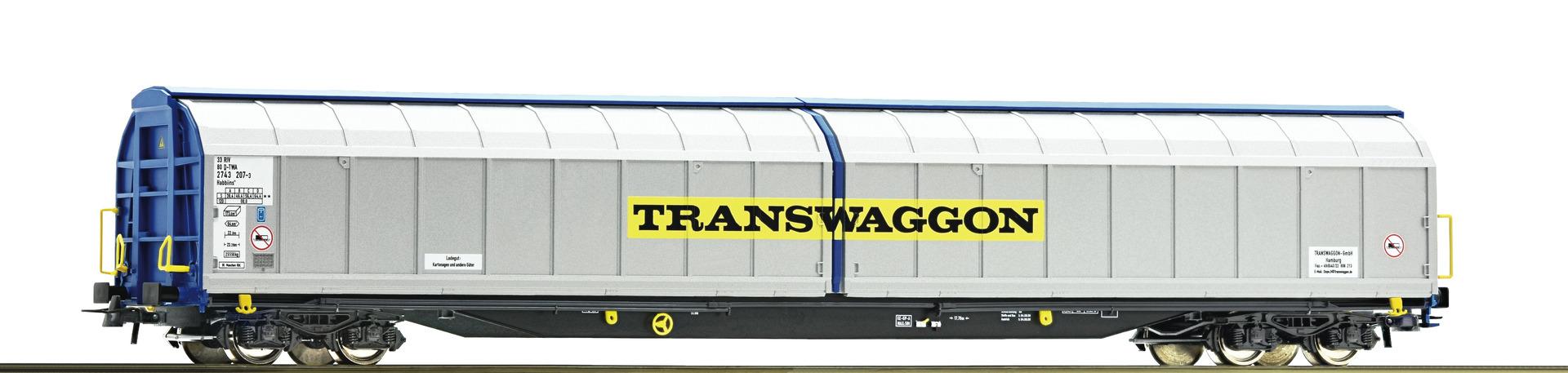 H0 Schiebewandwagen, TRANSWAGGON, Ep.V/VI
