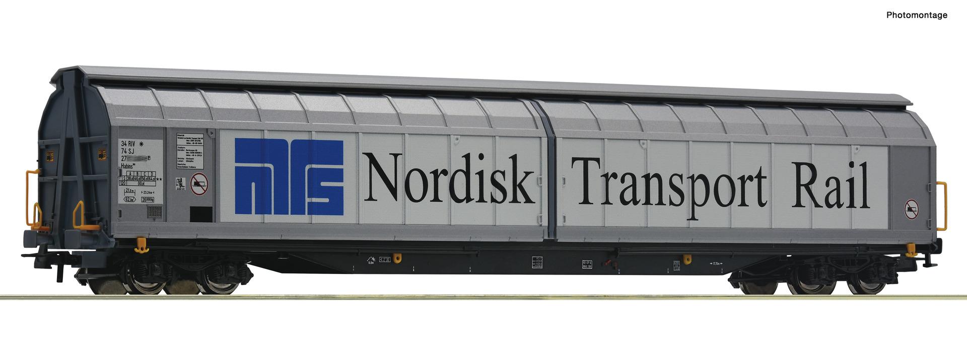 H0 Schiebewandwagen der Nordisk Transport Rail, Ep.VI