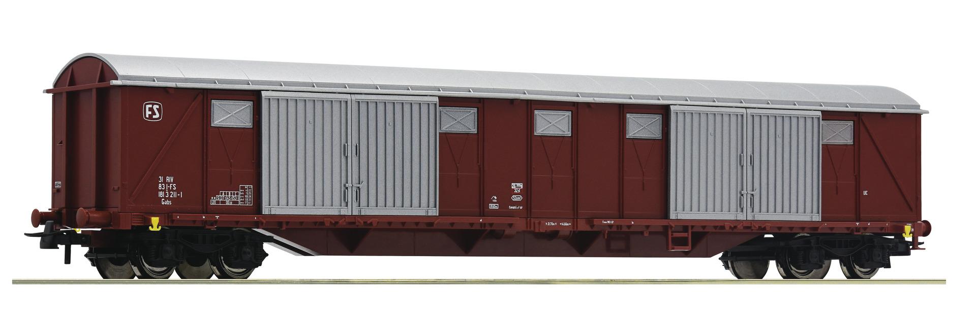H0 Gedeckter Güterwagen der FS, Ep.IV