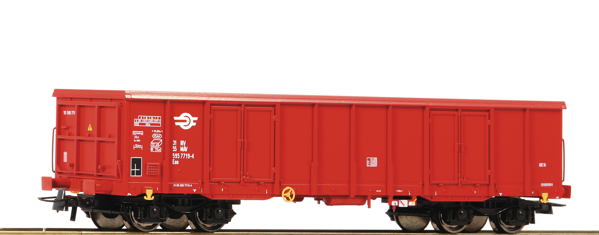 H0 Offener Güterwagen der MAV, Ep.V