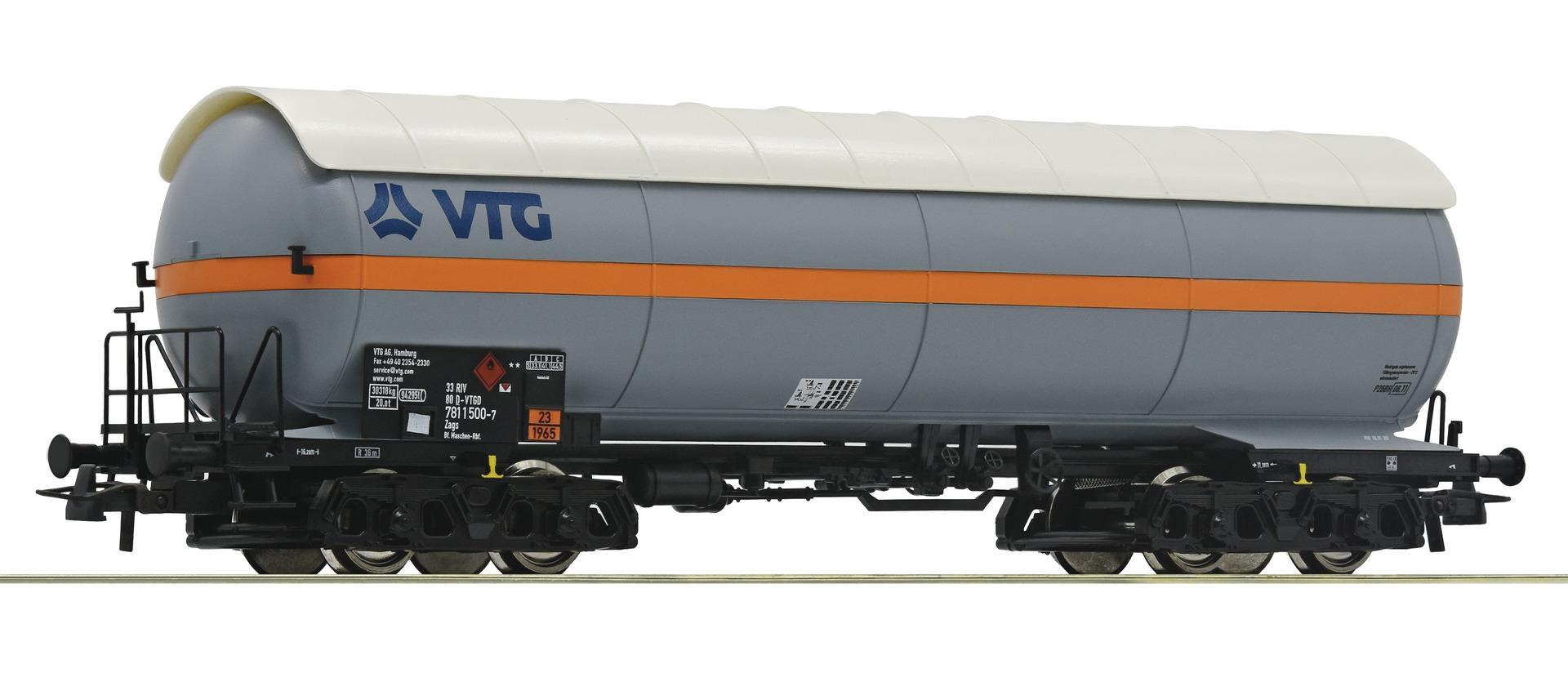 H0 Druckgaskesselwagen VTG der DBAG, Ep.V/VI