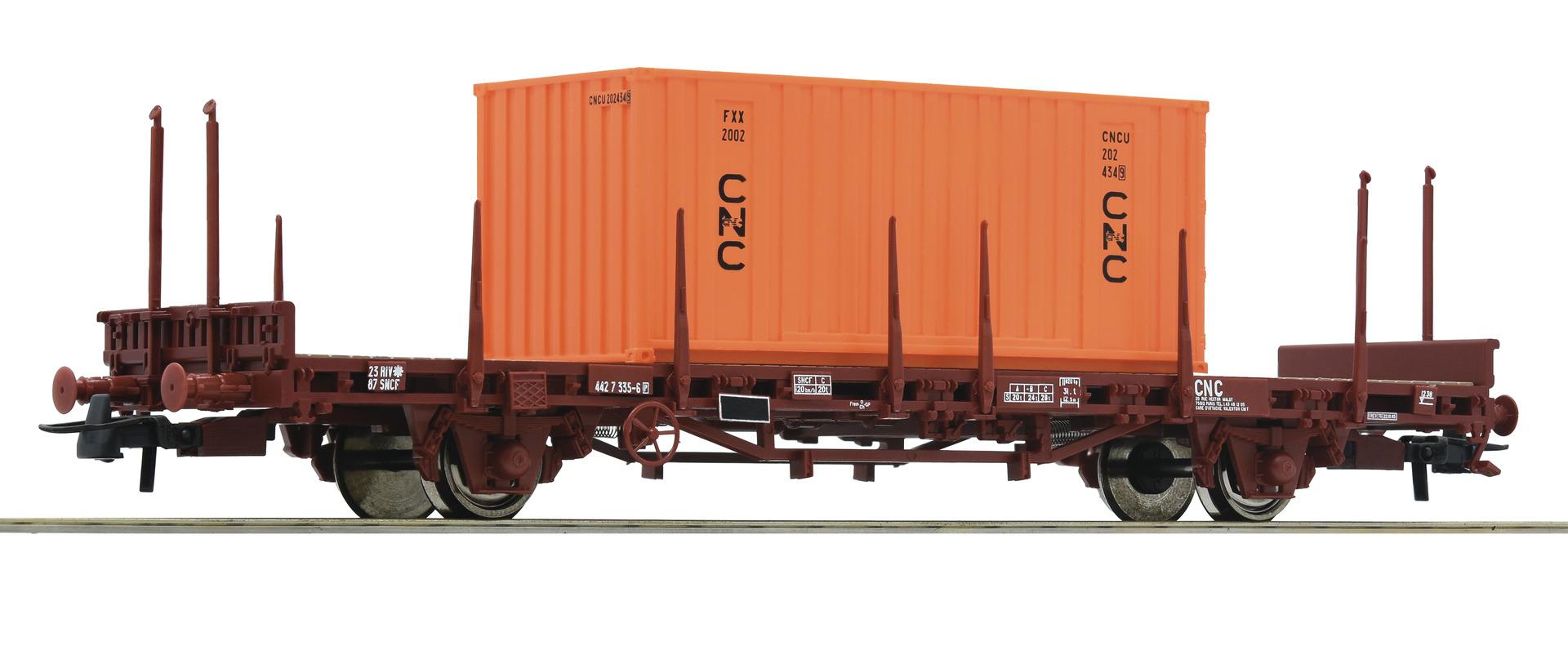 H0 Flachwagen der SNCF, Ep.IV