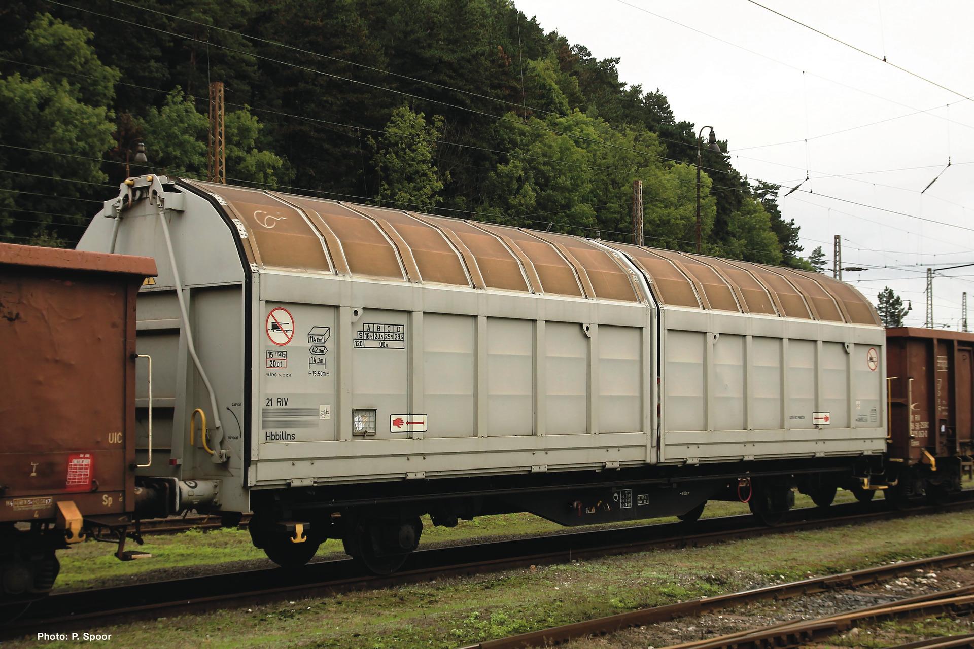 H0 Schiebewandwagen der ZSSK, Ep.VI
