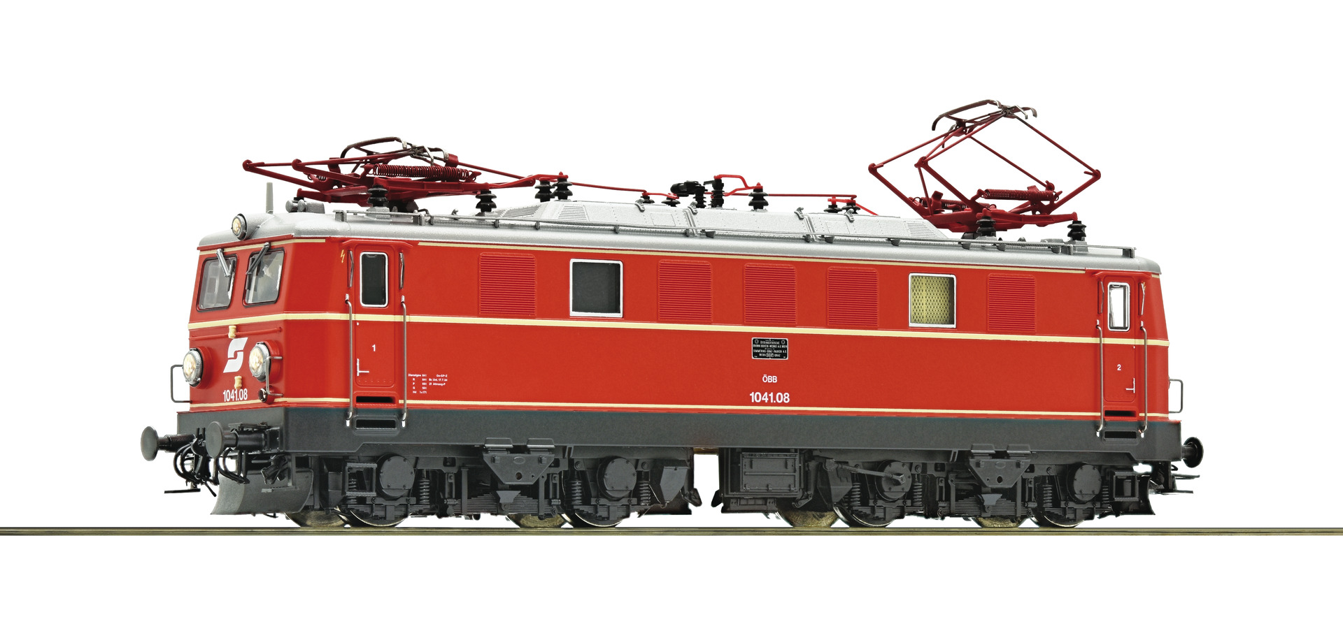 E-Lok 1041.08 ÖBB AC-Snd.