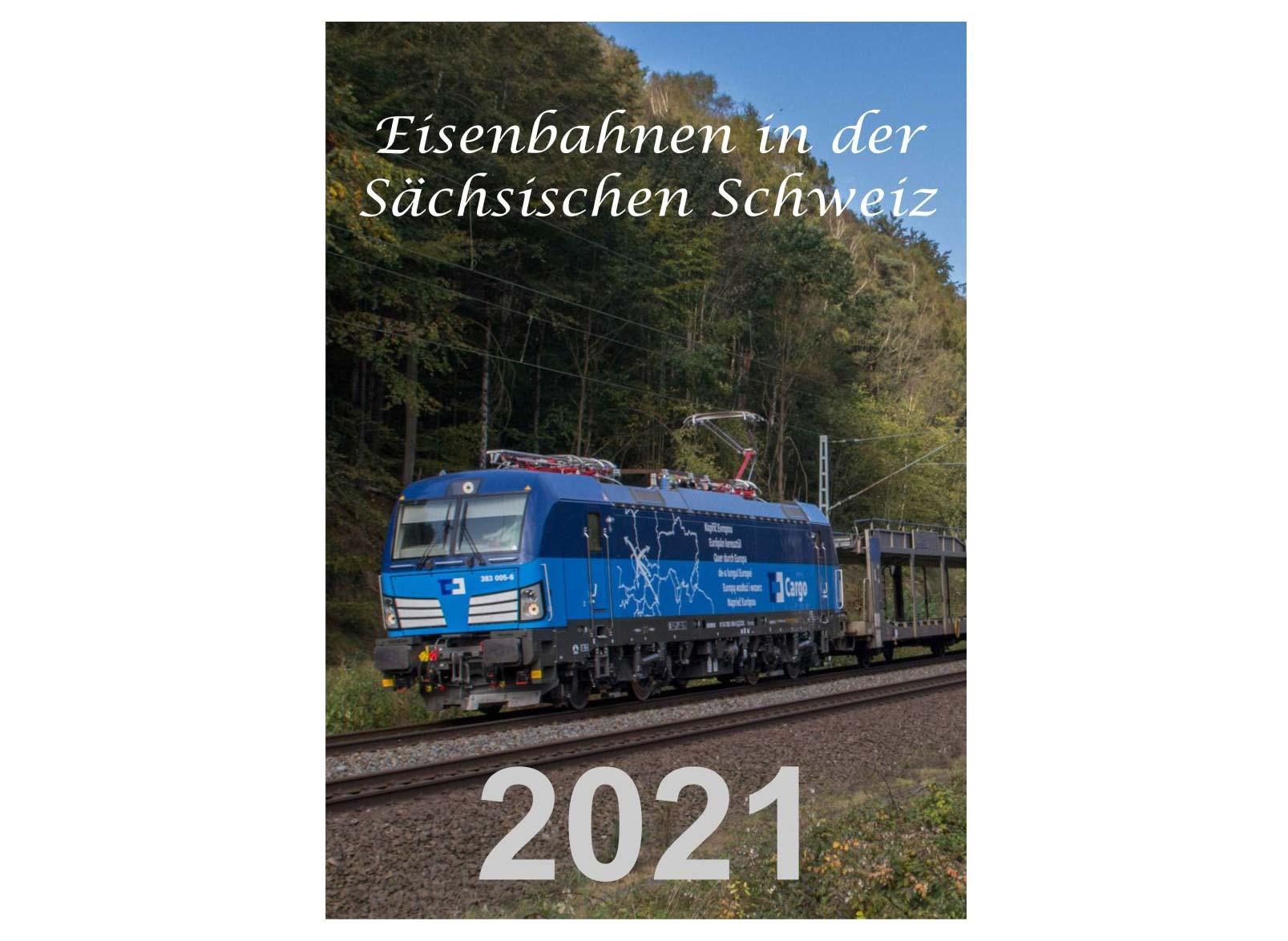 Eisenbahn Planer 2021 - Eisenbahn in der Sächsichen Schweiz