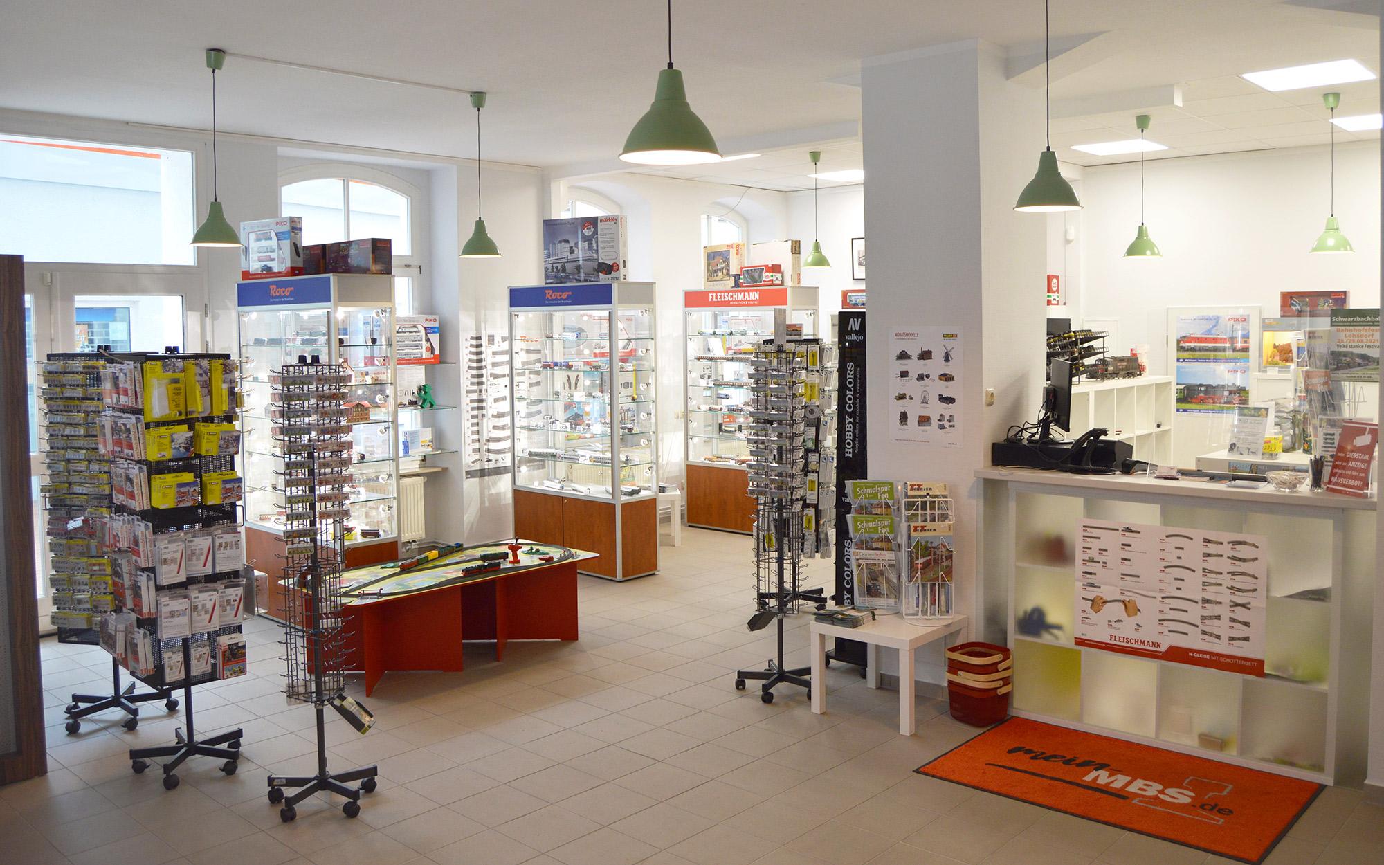 Unser Ladengeschäft in Sebnitz