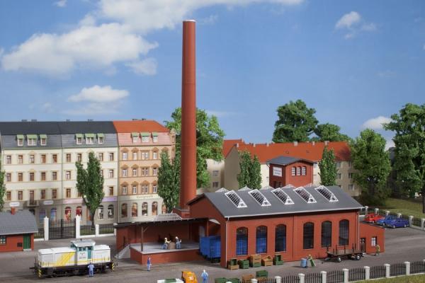 1:120 Fabrikgebäude