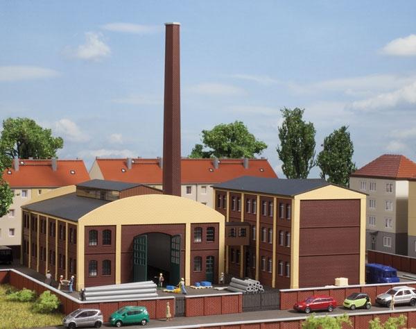 1:160 Fabrikgebäude