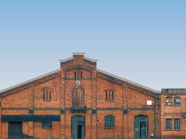 Halbrelief-Hintergrundkulisse Set 6 Industrie-Fassaden (Gesamtlänge 679 mm)