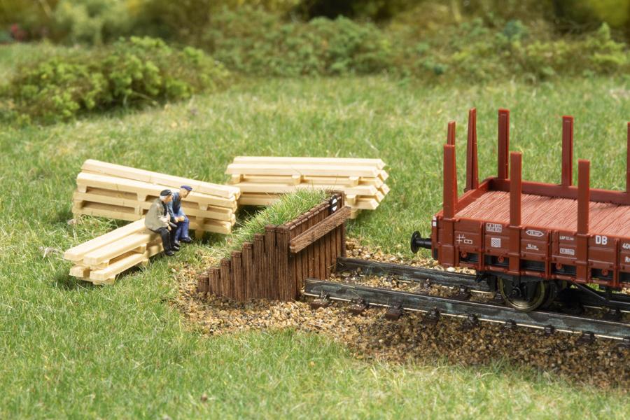 1:160 Prellbock Holz *
