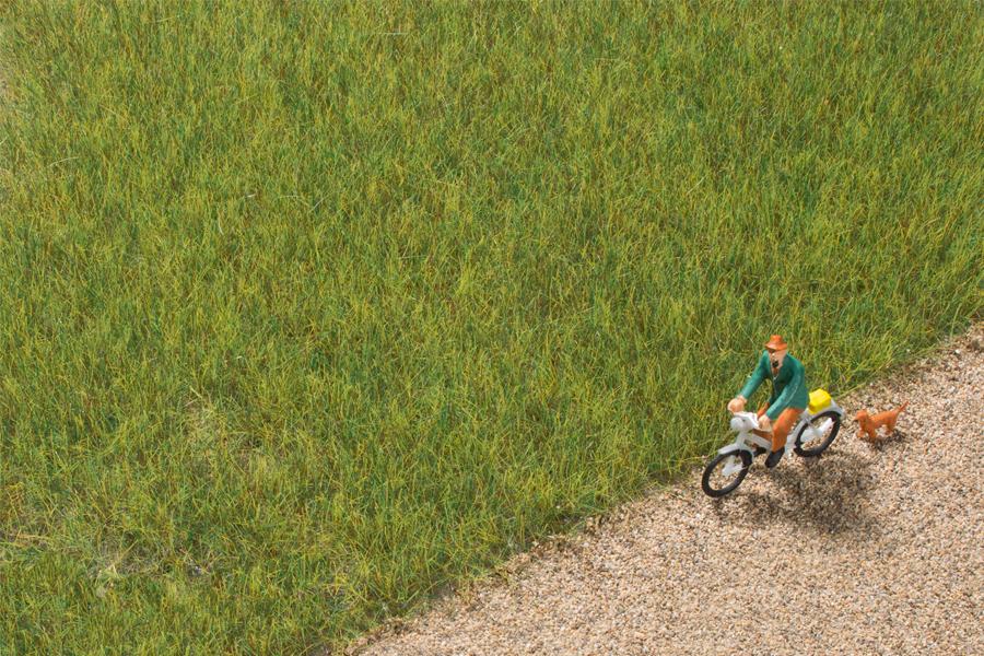 Grasfaser mittelgrün 6,0 mm (50 g)
