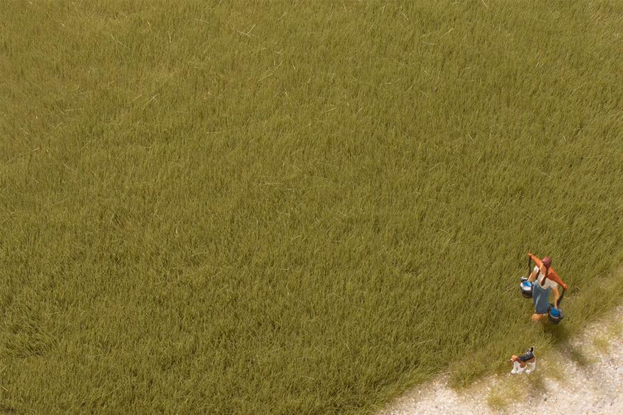 Grasfasern oliv 4,5 mm (50 g)